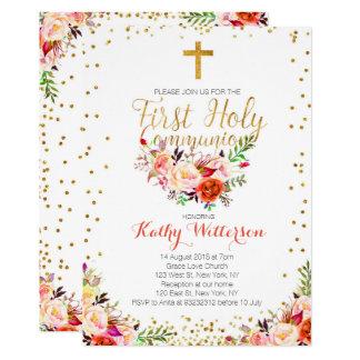 Première invitation de sainte communion