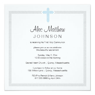 Première invitation de sainte communion carton d'invitation  13,33 cm
