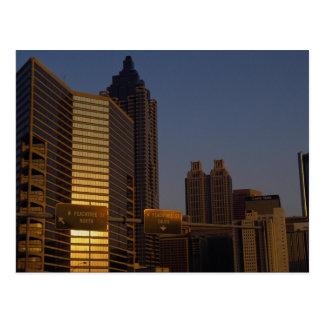 Première lumière de jour, Atlanta, la Géorgie, Carte Postale