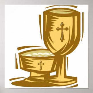 Première sainte communion affiches