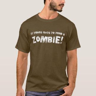 Prend le T-shirt de zombi d'entrailles - style de