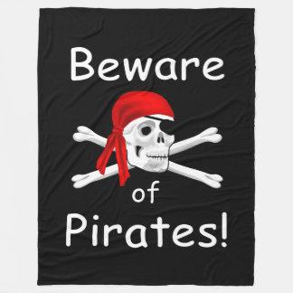 Prenez garde de la couverture de pirates
