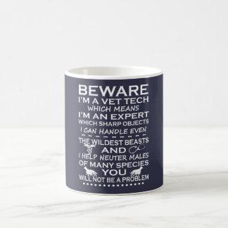 Prenez garde de moi suis une technologie de mug