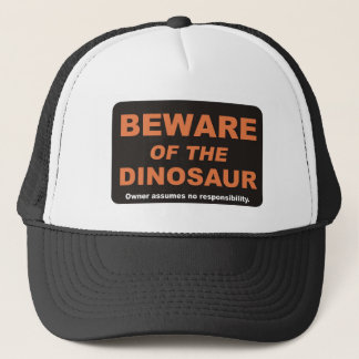 Prenez garde/dinosaure casquette