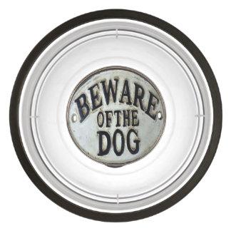 Prenez garde du bol d'aliments pour chiens écuelles pour animaux
