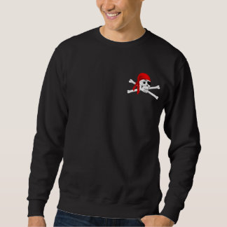 Prenez garde du sweatshirt des hommes de pirates