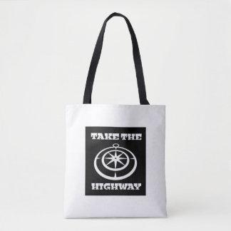 Prenez le sac fourre-tout à route