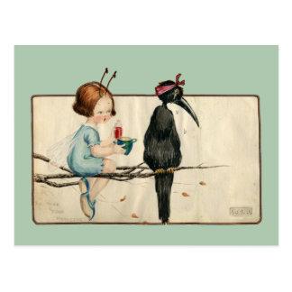Prenez votre médecine carte postale