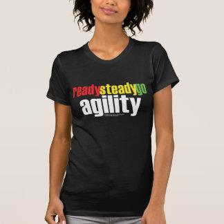 Préparez, affermissez, allez agilité ! T-shirt