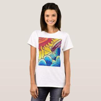 Près du T-shirt de The Sun