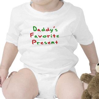 Présent du favori de la maman et du papa bodies pour bébé