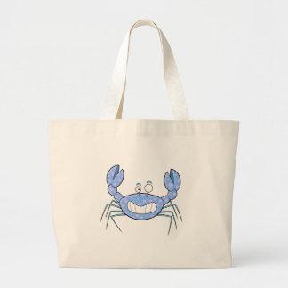 Présent mignon unique de cadeau de crabe désagréab grand sac