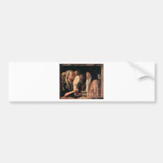 Présentation du Christ dans le temple C. 1465-66 Autocollants Pour Voiture