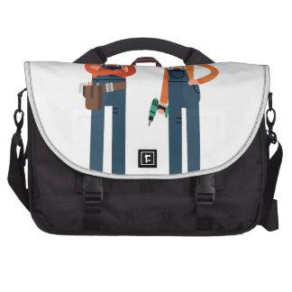 Présentez 16 février une fille à machiner le jour sacoche pour ordinateur portable