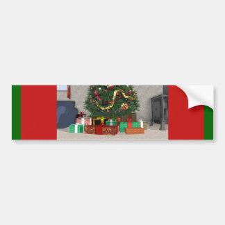Présents sous l'arbre de Noël : Autocollant De Voiture
