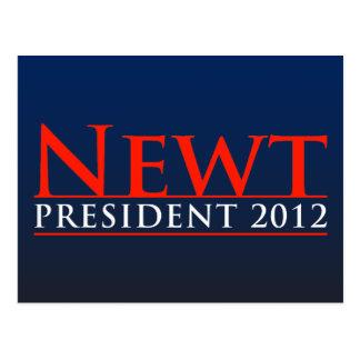 Président 2012 de triton carte postale