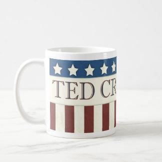 Président 2016 bannière étoilée de Ted Cruz Mug