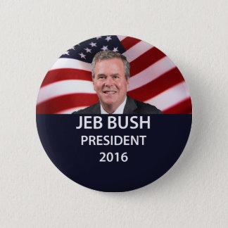 Président 2016 bouton de Jeb Bush Pin's