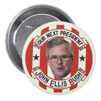 Président 2016 de Jeb Bush Pin's