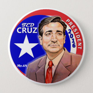 Président 2016 de Ted Cruz Badges