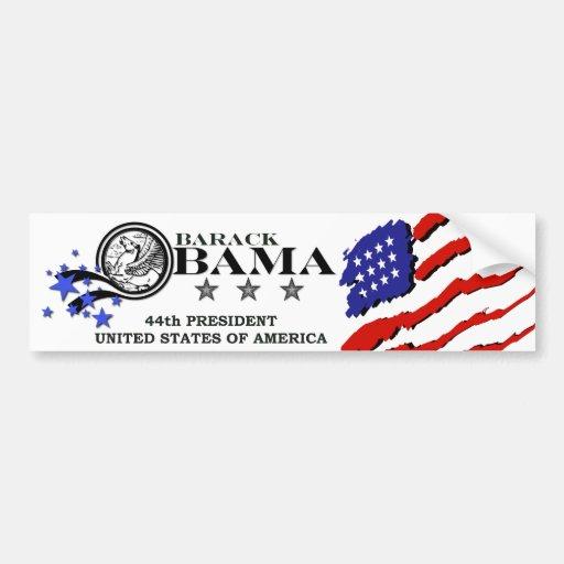 Président de Barack Obama quarante-quatrième Autocollants Pour Voiture