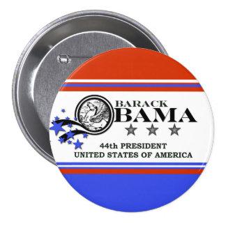 Président de Barack Obama quarante-quatrième Pin's Avec Agrafe