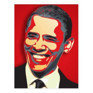 Président de Barack Obama quarante-quatrième Carte Postale