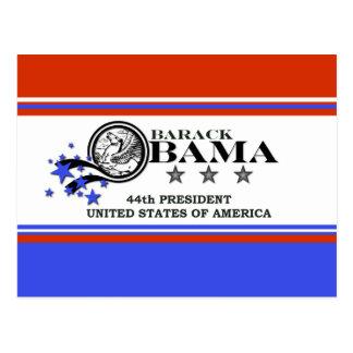 Président de Barack Obama quarante-quatrième Cartes Postales