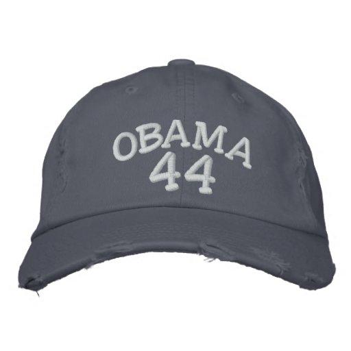 Président de Barack Obama quarante-quatrième Chapeaux Brodés