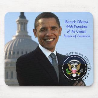 Président de Barack Obama quarante-quatrième des E Tapis De Souris