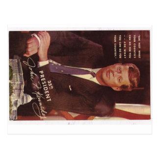 Président de JFK Kennedy Cartes Postales