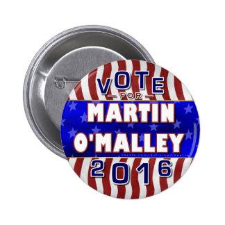 Président de Martin O'Malley élection 2016 Pin's