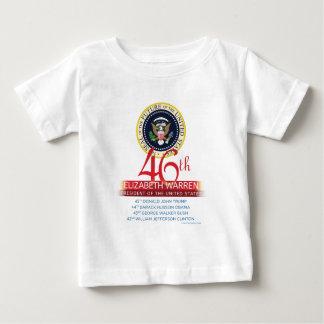 Président de terriers quarante-sixième d'Elizabeth T-shirt Pour Bébé