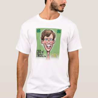 Président du T-shirt de base des hommes de TROLL,