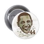 Président élégant 44 bouton d'Obama Badge Avec Épingle