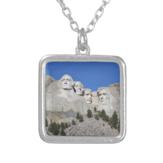 Présidents Etats-Unis Amérique du mont Rushmore le Pendentif Carré
