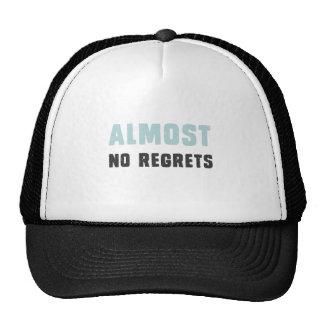 Presque aucuns regrets casquette de camionneur