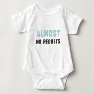 Presque aucuns regrets t-shirt