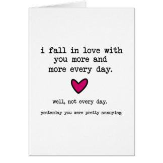 Presque chaque jour carte de vœux