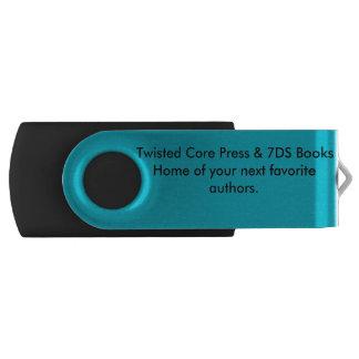 Presse de noyau et livres 7DS tordus Clé USB 2.0 Swivel