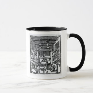 Presse typographique mug