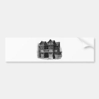 Prestbury vieux Hall Autocollant De Voiture