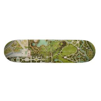 Prévoyez du jardin et château de la Reine Plateau De Skateboard