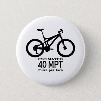Prévu 40 milles par taco badge