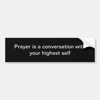 Prière Autocollant Pour Voiture