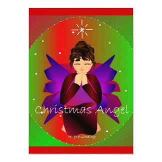 Prière de bébé d'ange de Noël Cartons D'invitation