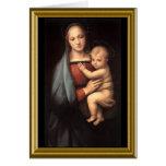 Prière de paix de St Francis - Noël Carte De Vœux