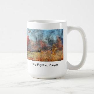 Prière de sapeur-pompier mug