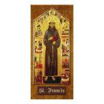 """""""Prière de St Francis d'Assisi """" Modèle De Carte Double"""