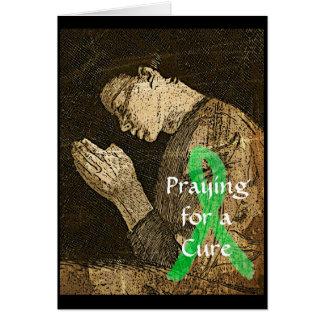 Prière pour un traitement pour tous. La maladie de Cartes